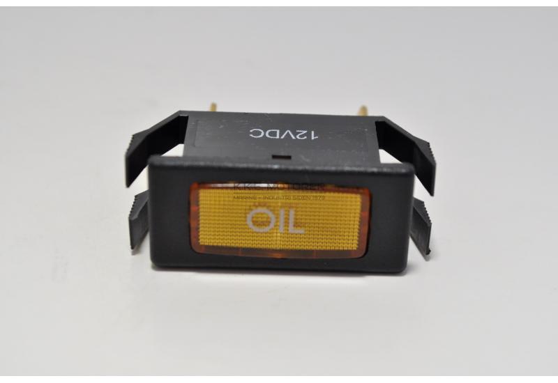 KONTROLLAMPE OLIE ORANGE - TIDL. 552A0352